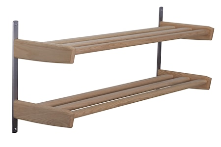 Oscarssons Möbel Meja skohylla 90cm 2-plan