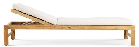 Ethimo Sand teak sunbed - exklusive madrass