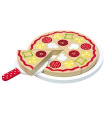 Pizza i trä