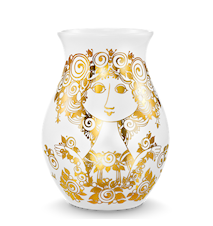 Vas, Rosalinde, guld, H 26 cm