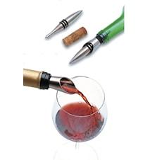 Stopper med droppkork till vinflaska, Uranus