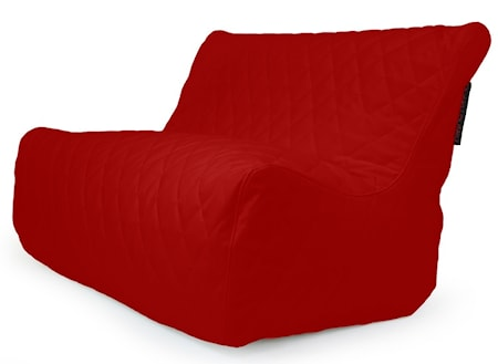 Pusku Pusku Sofa seat quilted outside sittsäck - Dark Red