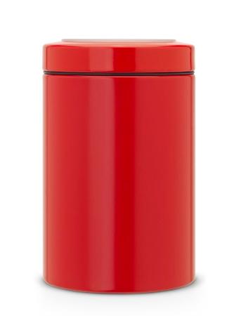 Brabantia Förvaringsburk med fönster 1.4 Ltr Passion Red