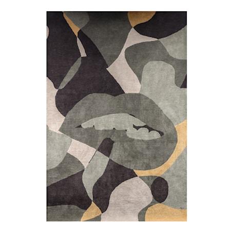Ullmatta Abstracto Olive/Multicolour 300x200 cm