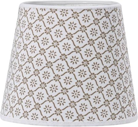Bilde av PR Home Mia glatt Lampeskjerm Svea Beige 17cm