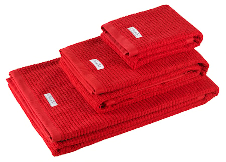 Newport Collection Fisher Island handduk röd