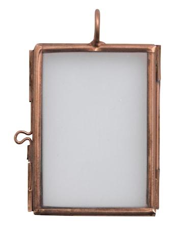 Madam Stoltz Valokuvakehys 5x3,75 cm - kupari