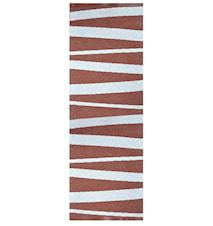 Åre Choklad/vit matta 2 m
