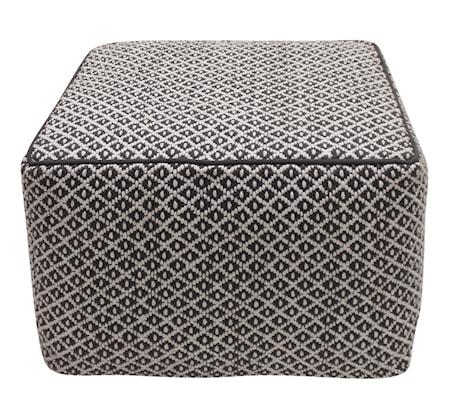Scandinavian concept Fibe square sittpuff