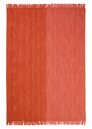 Nanda Matta Ull Jaffa Orange/Rose 200x300 cm