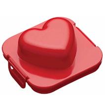 Äggform Hjärta Plast