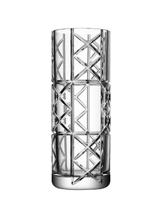Bilde av Orrefors Explicit Checks Vase 30 cm