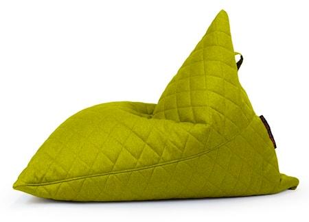 Pusku Pusku Razz quilted nordic sittsäck - Lime