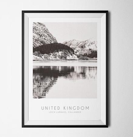 Bilde av Konstgaraget Photo art Loch Lubnaig poster