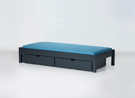 Manis-h Ull säng mörkgrå - 90x160