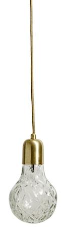 Nordal Crystal bulb taklampe – Drops, messing thumbnail