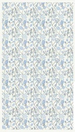 Ekelund FÅGEL Sininen Pöytäliina 145X250 CM