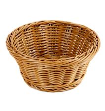 Brödkorg Ø 18,5 cm, brun
