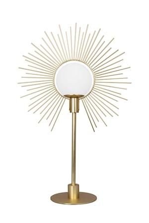Bordslampa Soleil Borstad Mässing