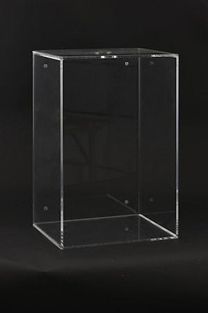 Vägglåda Plexi 45x30x25 cm - Klar