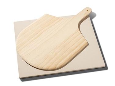 Baksten 38x33 cm med spade