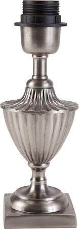 Bilde av PR Home Pollino Lampefot Antikk sølv 24 cm