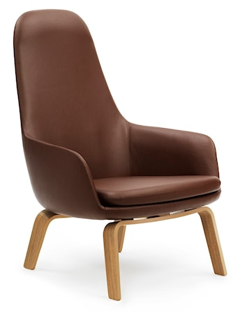 Normann Copenhagen Era Lounge Chair High Oak Tango