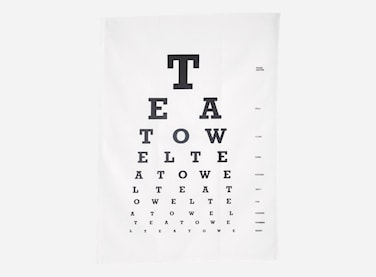 Kökshandduk Eye test 50x70 cm