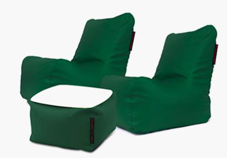 Pusku Pusku Lucky loungegrupp - Outside, green