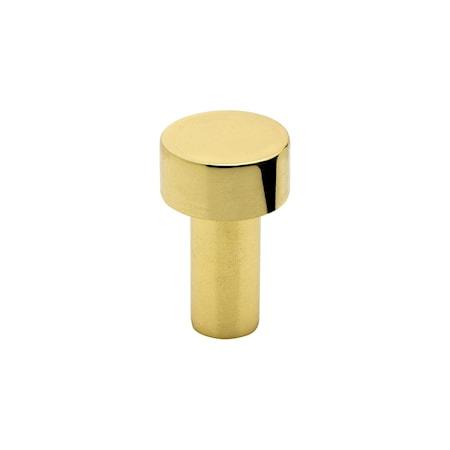 Beslag Design Knopp Mood mässing pol. - 3 cm