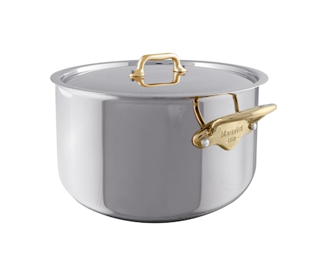 Cook Style gryta med lock stål