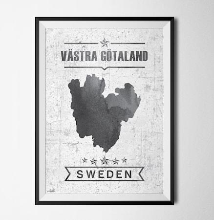 Bilde av Konstgaraget Västra götalands län poster