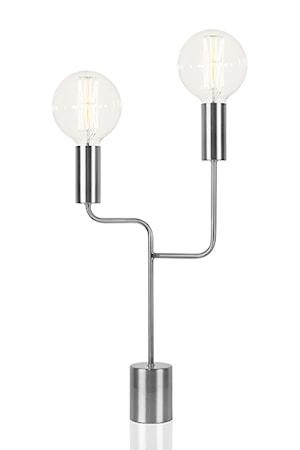 Bilde av Globen Lighting Bordlampe Bright Duo Antikksølv