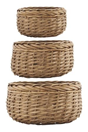 Korg Baskets 3st Natur