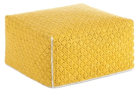 GAN Rugs Silaï big sittpuff ? Yellow