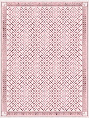 Ekelund ÅTTEBLADROSE -03 Pöytäliina 150X150 CM