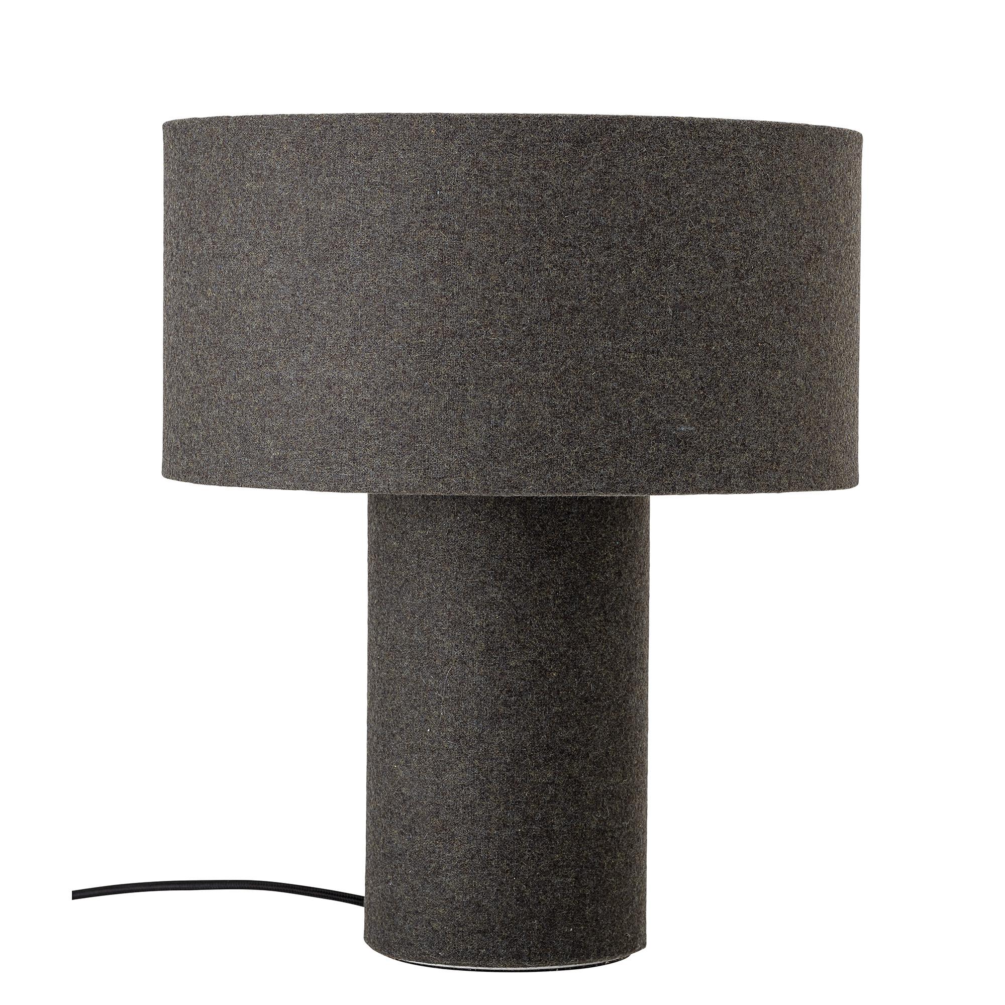 Köp Bordslampa Grå Ull Bloomingville från 999 kr Roomly.se