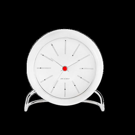 Rosendahl Arne Jacobsen Bankers bordsur vit/vit Ø 11 cm alarmfunktion