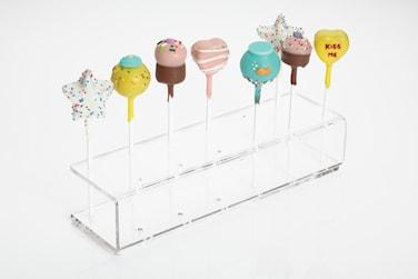 Cake Pop Dekorationsstativ i akryl