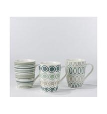 Krus Luna grøn 37cl  keramik