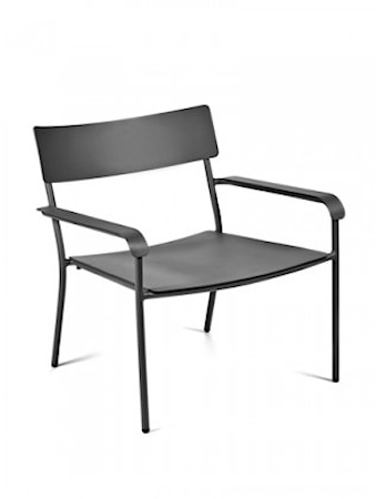 Serax August Lounge Chair, Svart