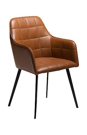 Dan Form Denmark Stol Embrace Konstläder - Vintage Ljusbrun
