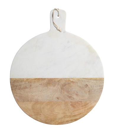 Master Class Prep & Serve Tarjoilulauta puuta ja marmoria