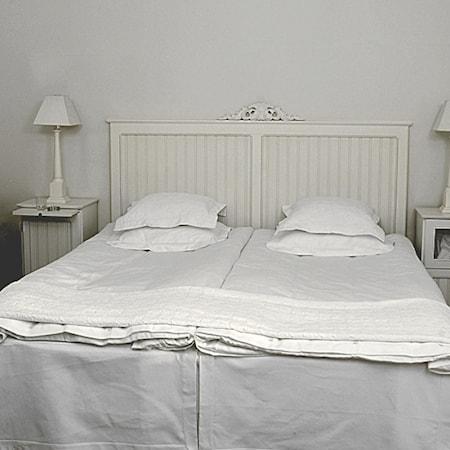 Kallholmen Herrgården dubbel sänggavel Svart, 210 cm