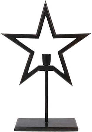 Farm Stjärna on Base Svart 65cm