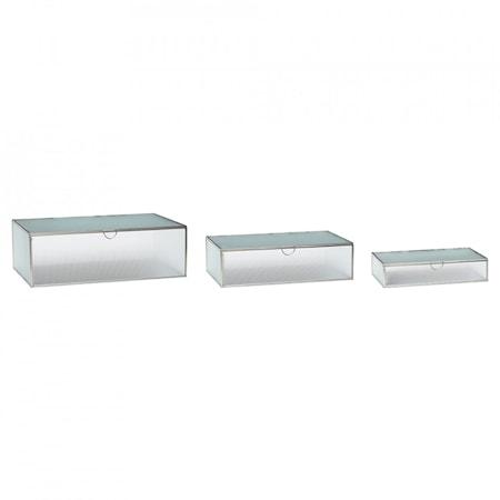 Box Glas & Metal 3 st