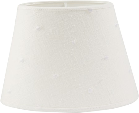 Bilde av PR Home Oval Lampeskjerm Lin Prick 25 cm