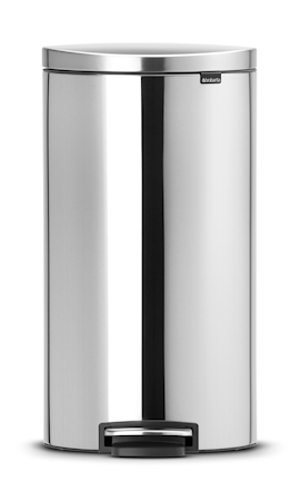 Brabantia Flatback + poljinroskis Matta teräs 30 L