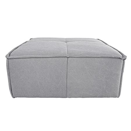 Cube Soffa hocker Ljusgrå