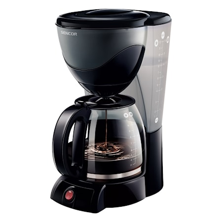 Sencor Kaffebrygger Sort 1,5 L thumbnail